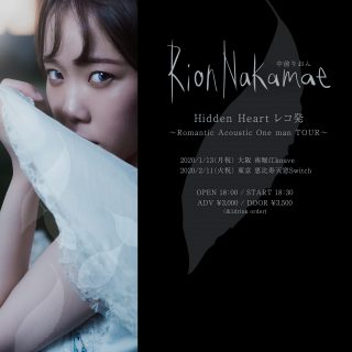 Hidden Heart レコ発 〜Romantic Acoustic One man〜東京公演
